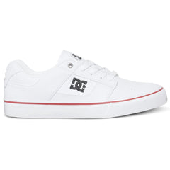DC Bridge TX - White/Royal/Athletic Red HRA - Men's Skateboard Shoes