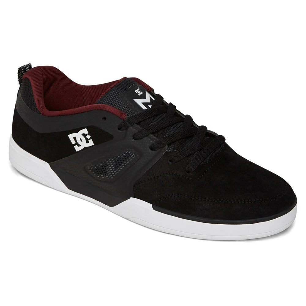 DC Matt Miller S - Black/Oxblood BO2 - Men's Skateboard Shoes