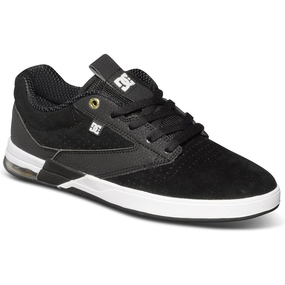 DC Wolf S - Black/White BKW - Men's Skateboard Shoes