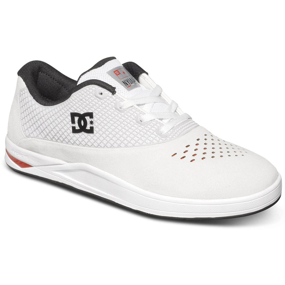 DC N2 S - White/Red WRD - Men's Skateboard Shoes