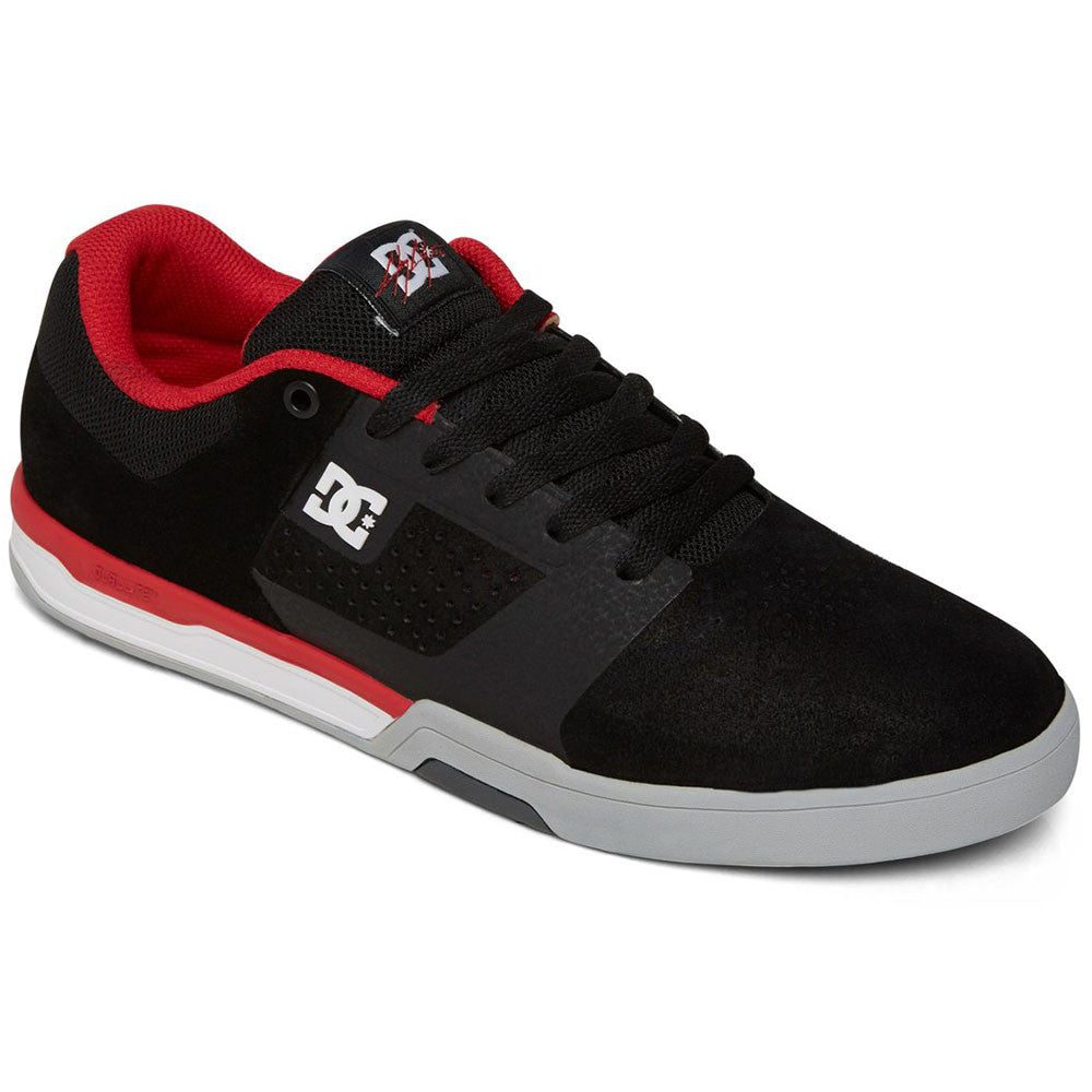 DC Cole Lite 2 - Black/Red BLR - Men's Skateboard Shoes