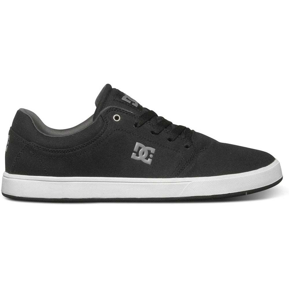 DC Crisis TX - Black/Grey BGY - Men's Skateboard Shoes