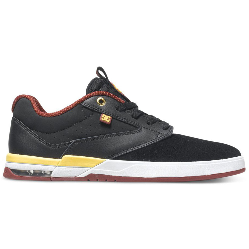 DC Wolf S - Black/Yellow BY0 - Men's Skateboard Shoes