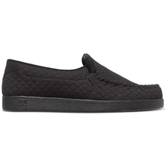 DC Villain TX SE Slip-On - Black 001 - Men's Skateboard Shoes