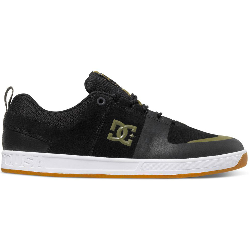 DC Lynx Prestige S - Black/Black/Gum KKG - Men's Skateboard Shoes