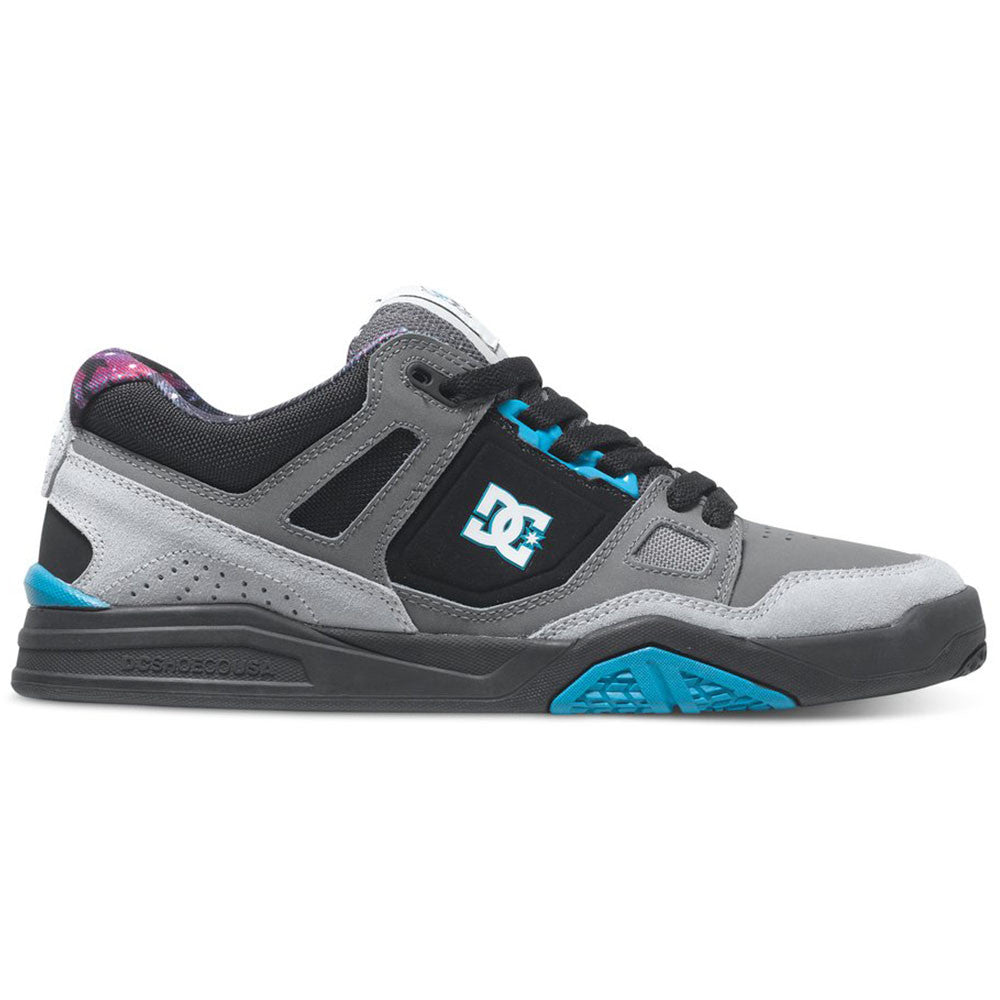 DC Stag 2 Ken Block - Cyan/Black CYB - Men's Skateboard Shoes
