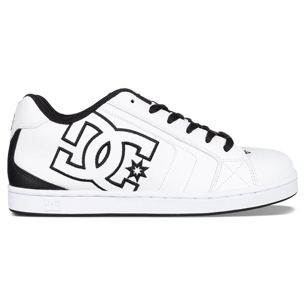 DC Net - White/Black WK3 - Men's Skateboard Shoes