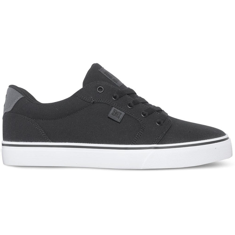 DC Anvil TX - Black 001 - Men's Skateboard Shoes