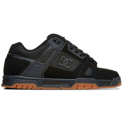 DC Stag - Black w/ Gum BGM - Men's Skateboard Shoes