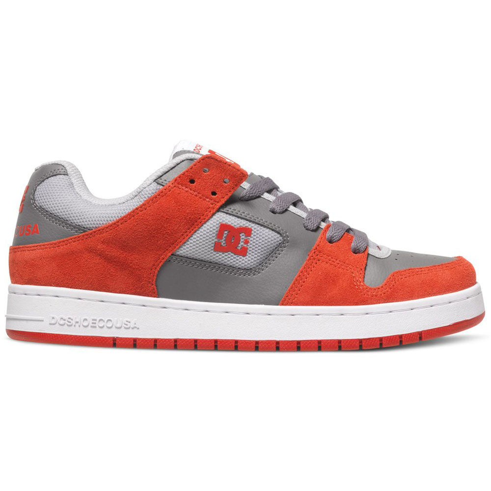 DC Manteca - Red/Grey RGY - Men's Skateboard Shoes