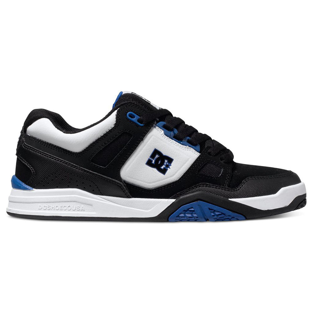 DC Stag 2 - Black/White/Royal BWR - Men's Skateboard Shoes