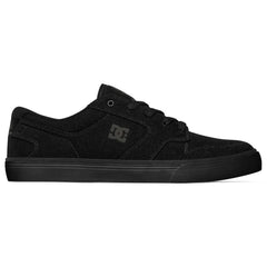 DC Nyjah Vulc TX - Black/Black/Black 3BK - Men's Skateboard Shoes