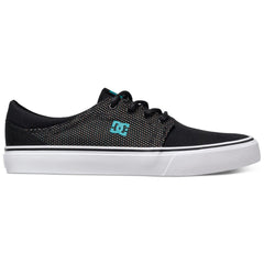DC Trase TX SE - Black/K-5 BK5 - Men's Skateboard Shoes