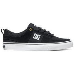 DC Lynx Vulc - Black Herringbone BL0 - Men's Skateboard Shoes