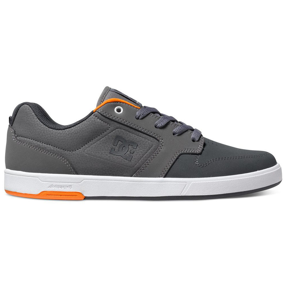 DC Nyjah - Dark Grey/Orange GO0 - Men's Skateboard Shoes