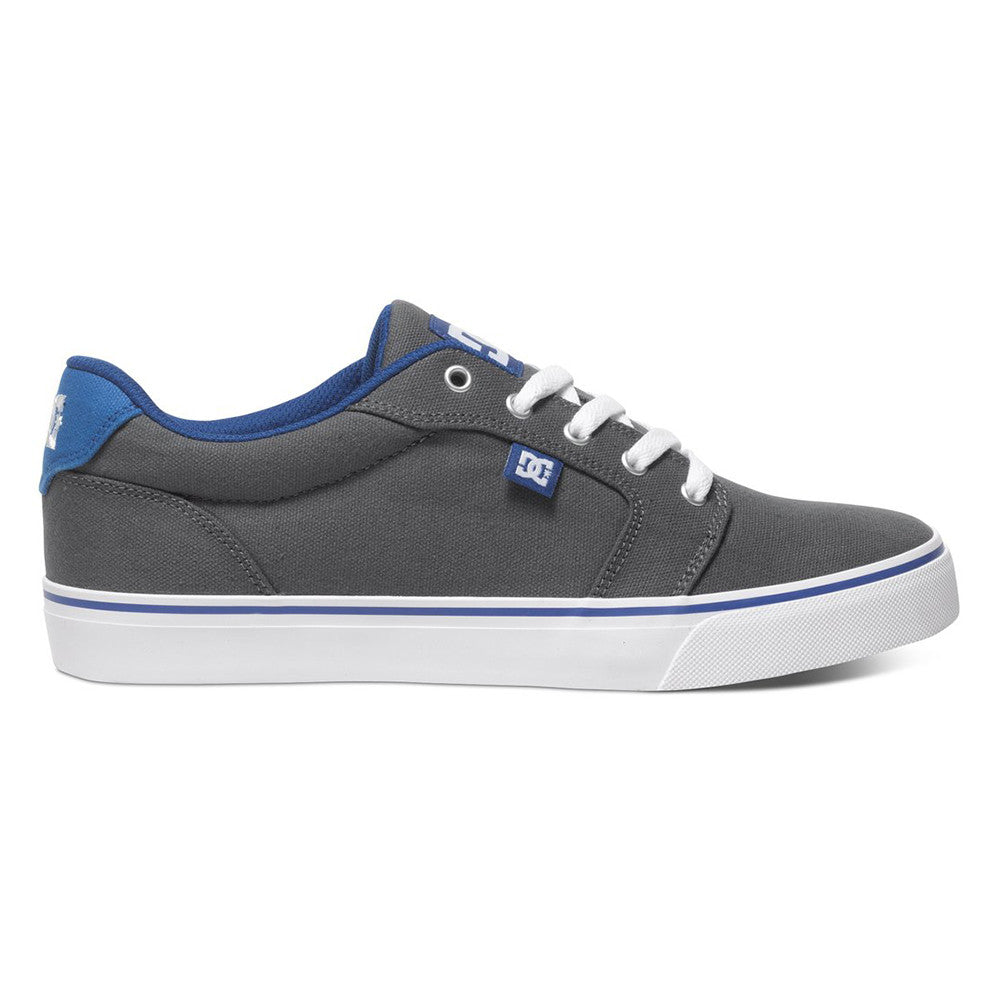 DC Anvil TX - Grey/Blue GBF - Men's Skateboard Shoes
