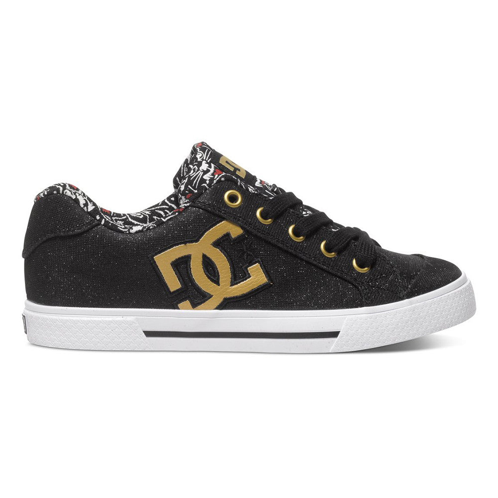 DC Chelsea X TR - Black Print BPT - Women's Skateboard Shoes