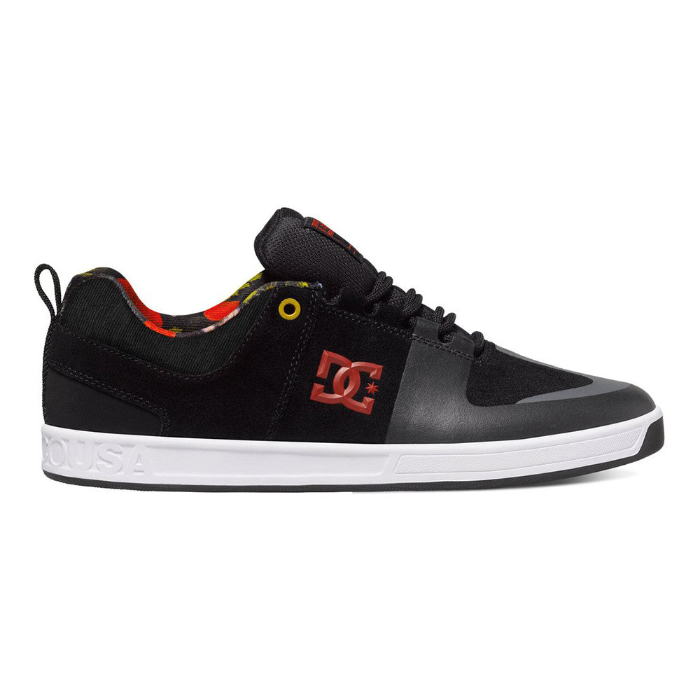 DC Lynx Prestige S - Black/Multi KMI - Men's Skateboard Shoes