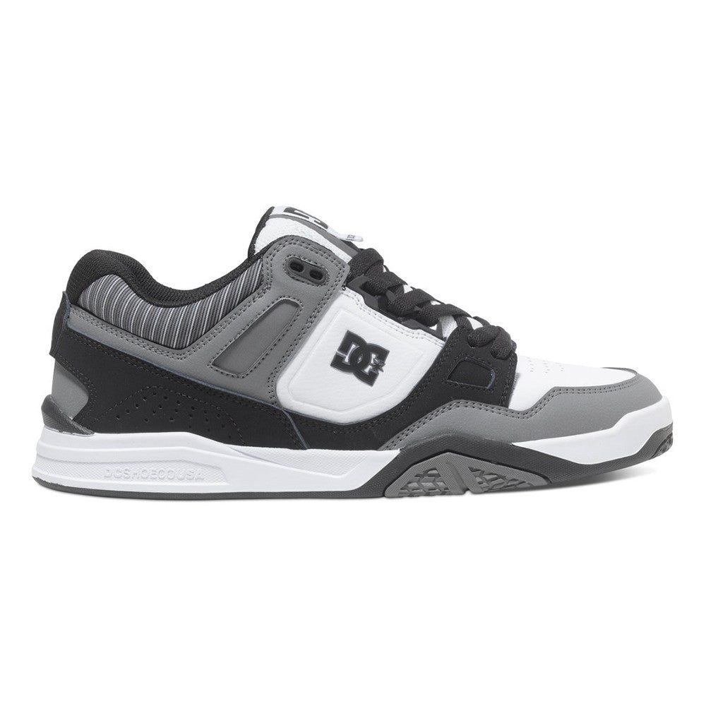 DC Stag 2 - Black Stripe BSP - Men's Skateboard Shoes