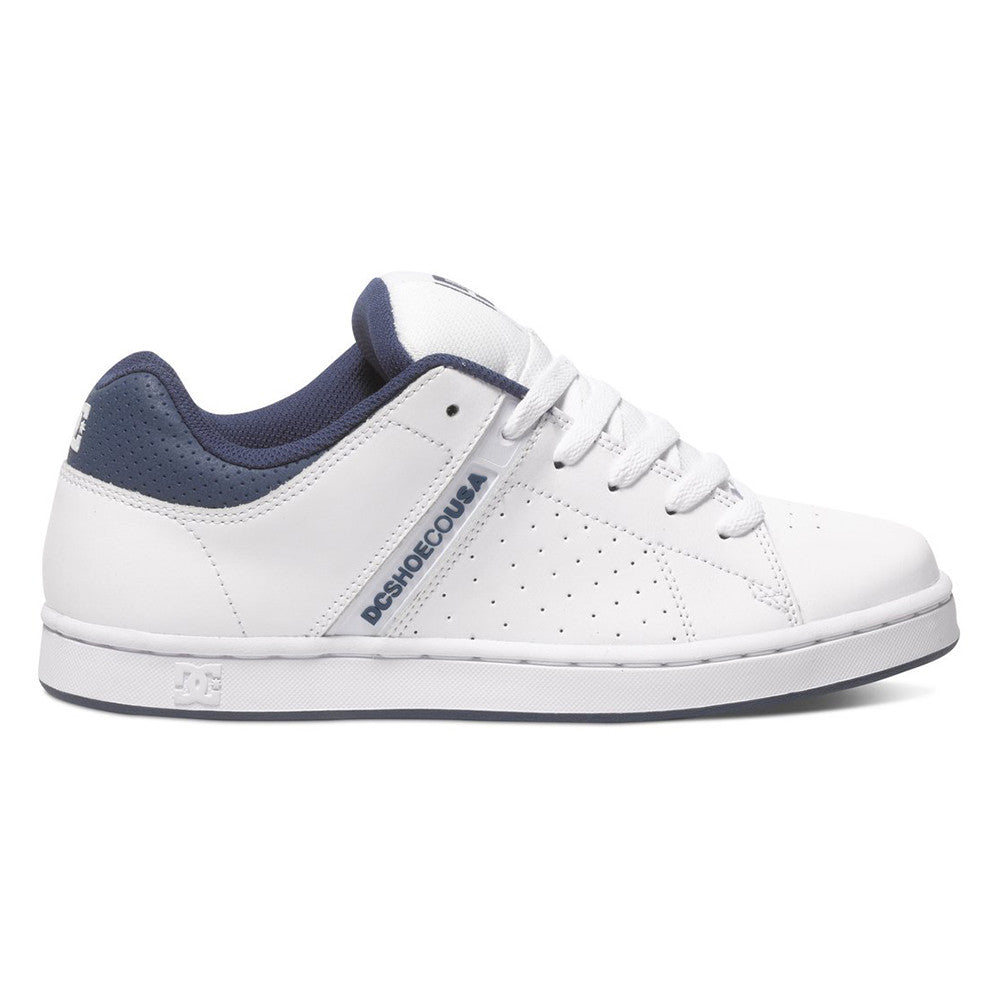 DC Wage - White/Navy WNY - Men's Skateboard Shoes