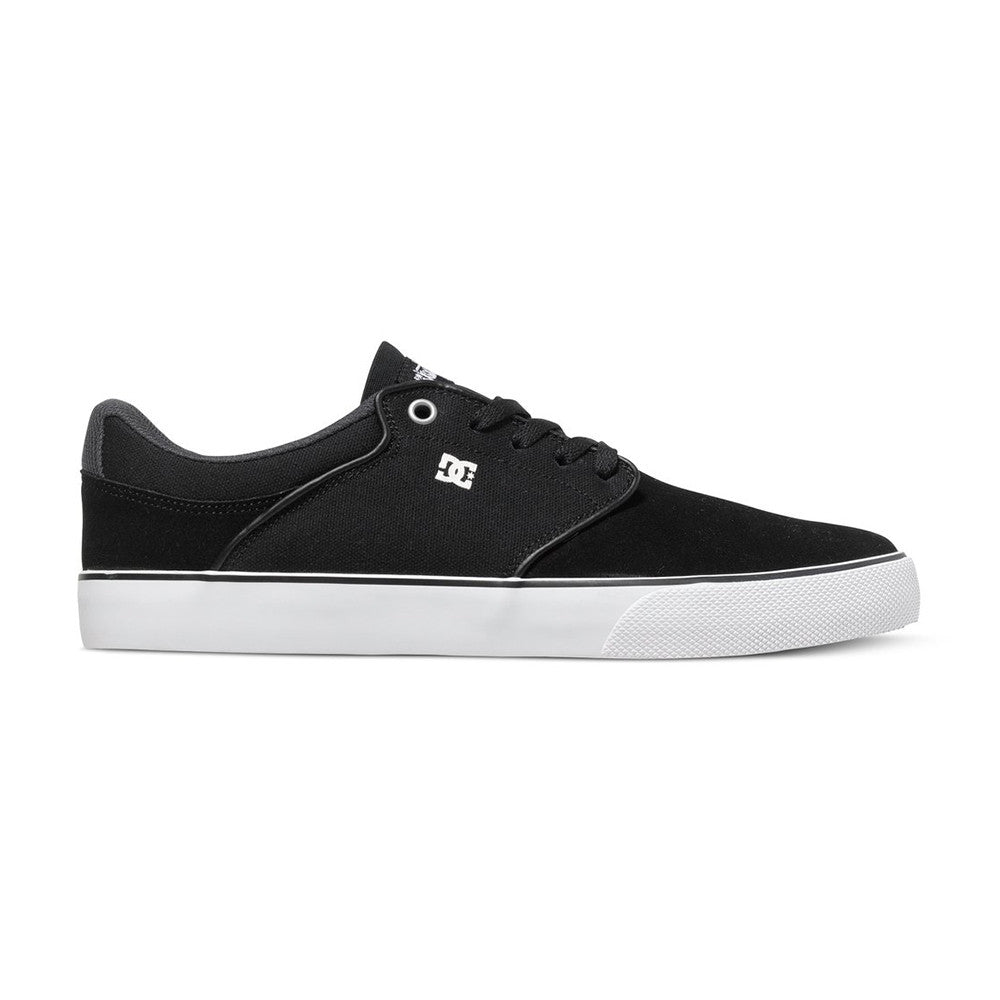 DC Mikey Taylor VU - Black/White/Grey XKWS - Men's Skateboard Shoes