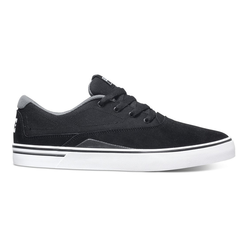 DC Sultan S - Black/White BKW - Men's Skateboard Shoes