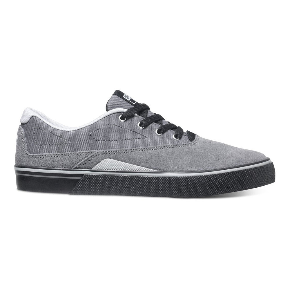 DC Sultan S - Grey/Black/Black XSSK - Men's Skateboard Shoes