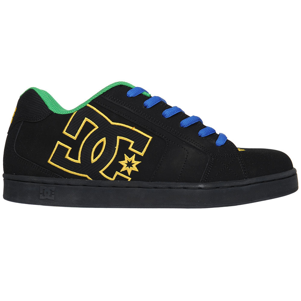 DC Net - Black/Royal/Emerald (BYE) - Men's Skateboard Shoes