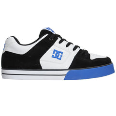 DC Pure - Black/White/Royal (BWR) - Men's Skateboard Shoes