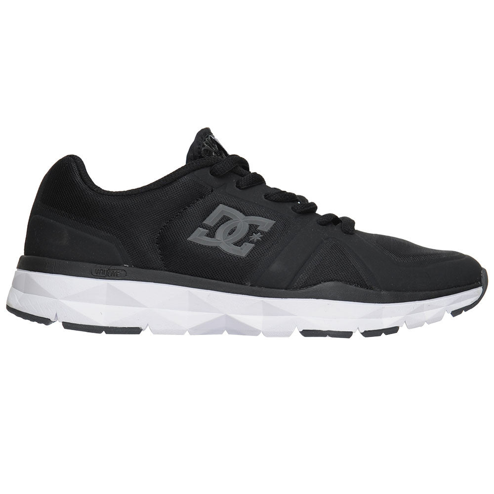 DC Unilite Trainer - Black/Grey (BGY) - Men's Skateboard Shoes