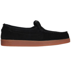 DC Villain - Black/Gum (BGM) - Men's Skateboard Shoes