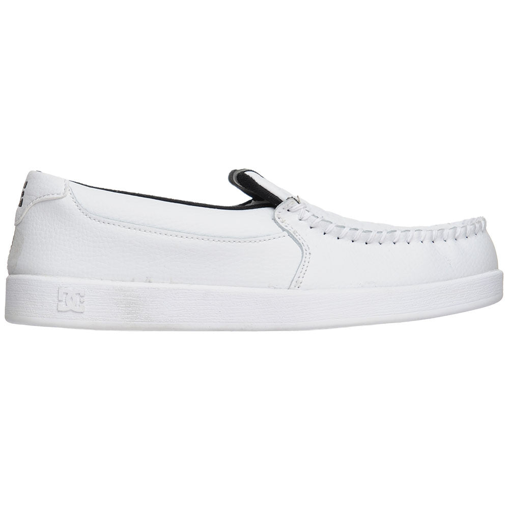 DC Villain - White/Monogram (WMN) - Men's Skateboard Shoes