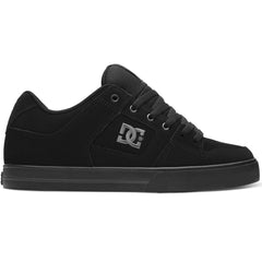 DC Pure - Black/Pirate Black (LPB) - Men's Skateboard Shoes
