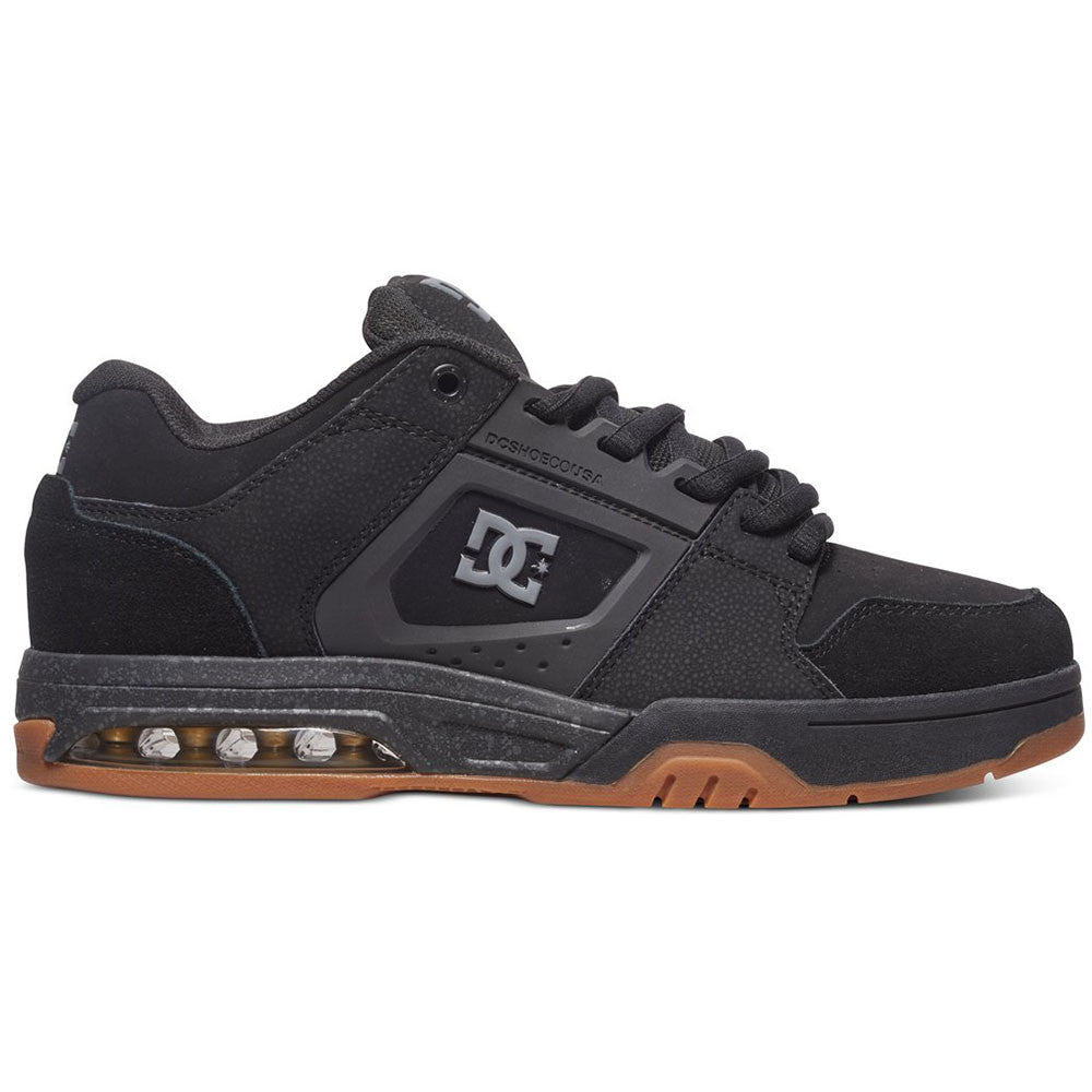 DC Rival - Black (BLK) - Men's Skateboard Shoes