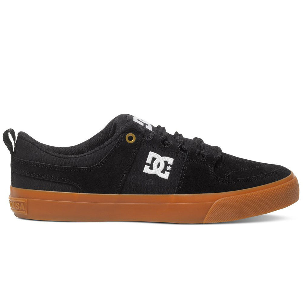 DC Lynx Vulc Low-Top - Black/Gum (BGM) - Men's Skateboard Shoes