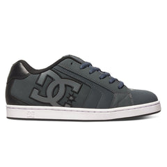 DC Net - Grey/Grey/Black (XSSK) - Men's Skateboard Shoes
