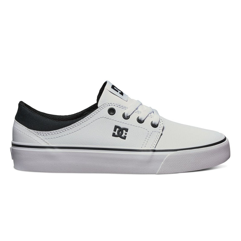 DC Trase SE - Black/White (BKW) - Women's Skateboard Shoes