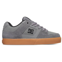 DC Pure - Grey/Gum (2GG) - Men's Skateboard Shoes