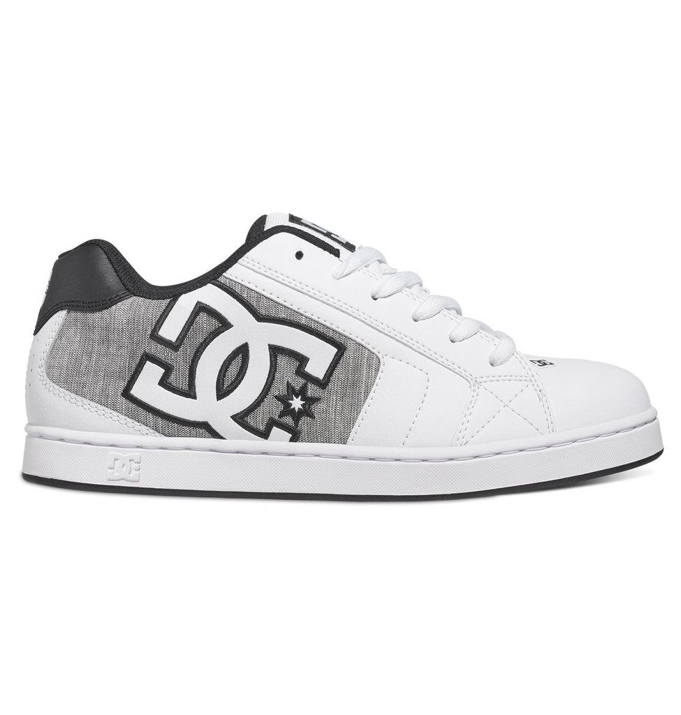 DC Net SE - White/Light Grey (WL3) - Men's Skateboard Shoes