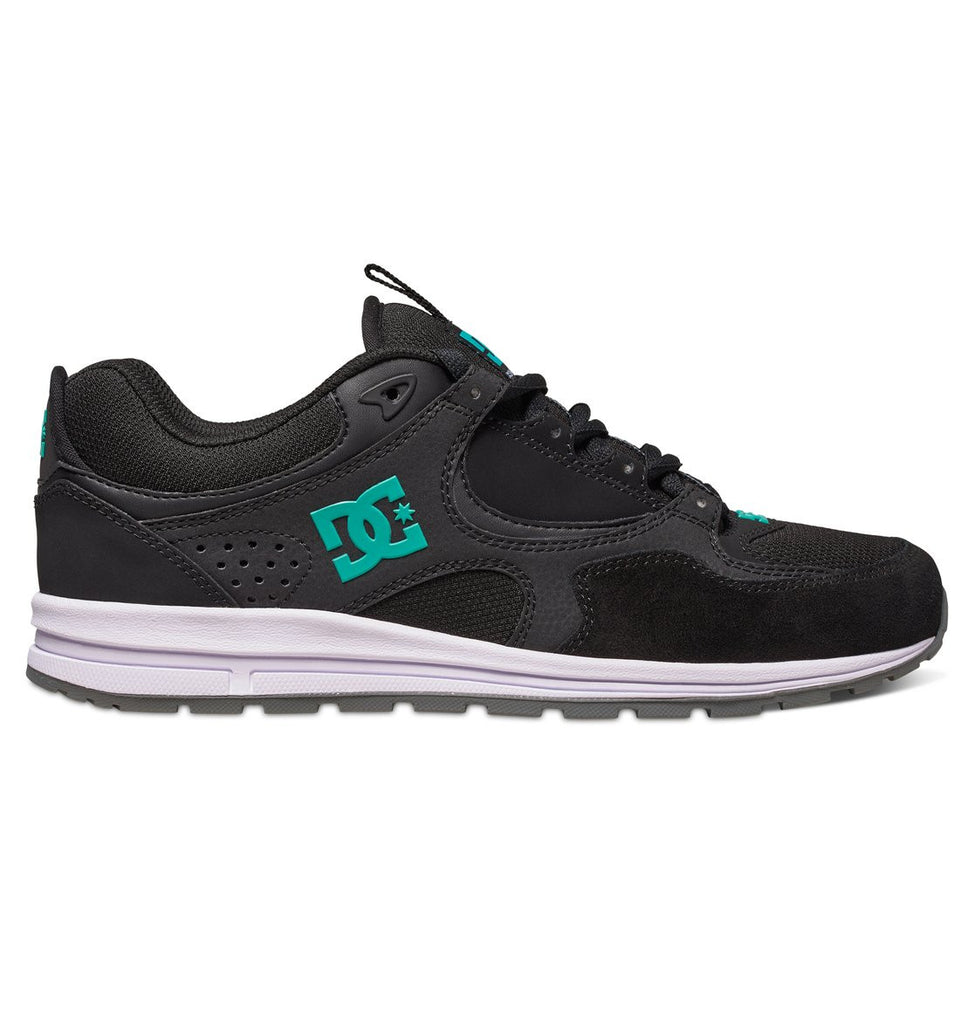 DC Kalis Lite - Black/Turquoise (BTU) - Men's Skateboard Shoes
