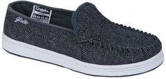 Globe Castro - Black/Grey Tweed - Skateboard Shoes