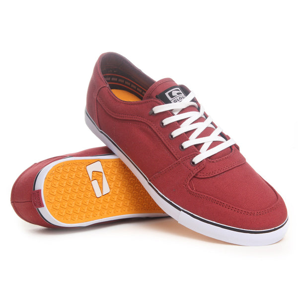 Globe Banshee - Brick Red/White - Skateboard Shoes
