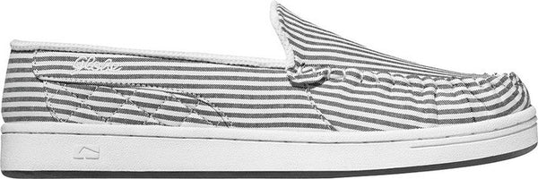 Globe Castro - White/Black Pinstripe - Skateboard Shoes