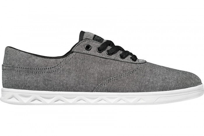 Globe Lyte - Black Chambray - Skateboard Shoes