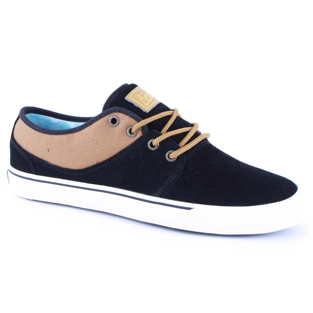 Globe Mahalo - Black/Brown - Skateboard Shoes