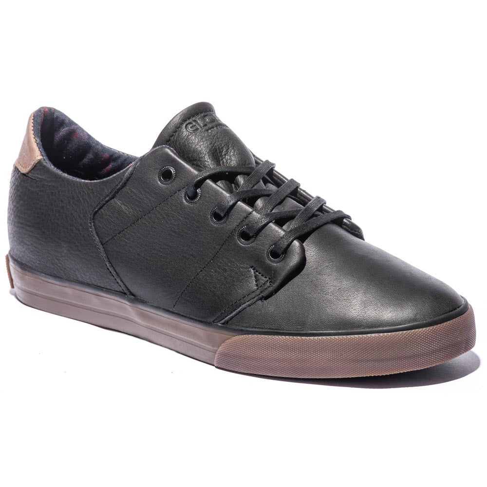 Globe Los Angered Low - Black/Gum - Skateboard Shoes