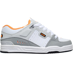 Globe Fusion - Grey/White/Orange - Skateboard Shoes