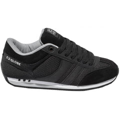 Globe Pulse - Black Mesh - Skateboard Shoes