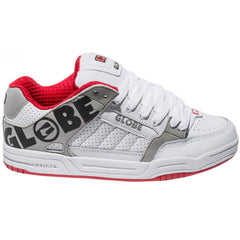 Globe Tilt - White/Red - Skateboard Shoes
