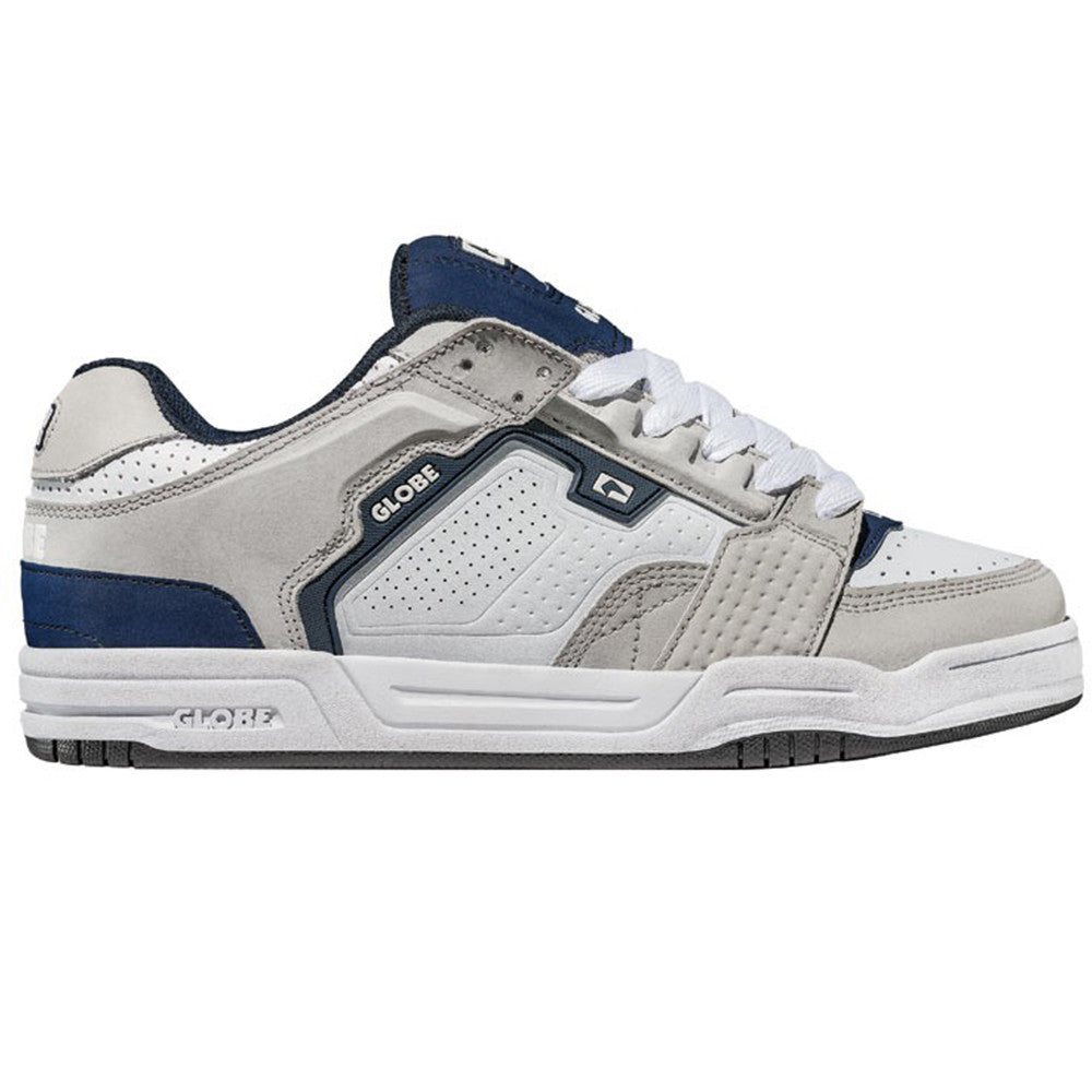 Globe Scribe - Grey/White/Navy - Skateboard Shoes